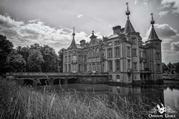 Chateau VP Exterior Black and White