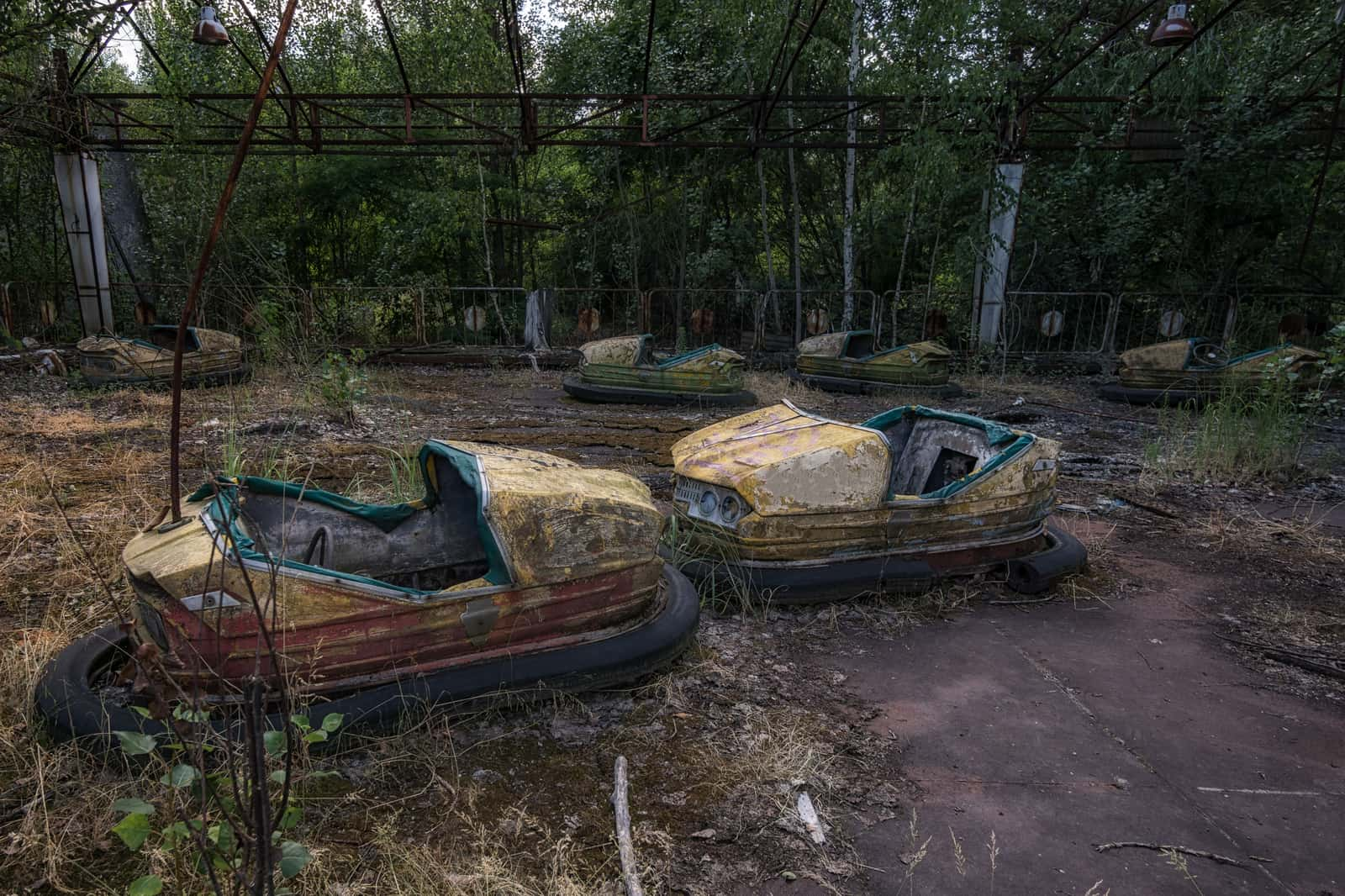 Chernobyl Pripyat Amusement Park Featured