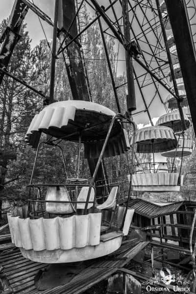 Chernobyl Pripyat Amusement Park Ferris Wheel Carriage