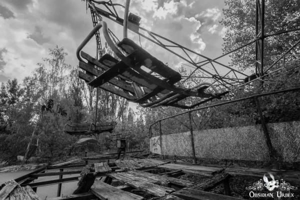 Chernobyl Pripyat Amusement Park Swing