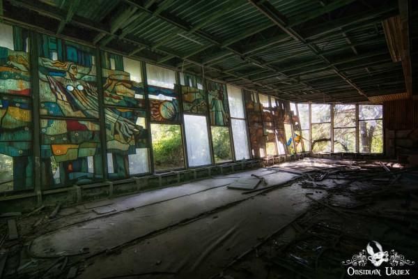 Chernobyl Pripyat Cafe