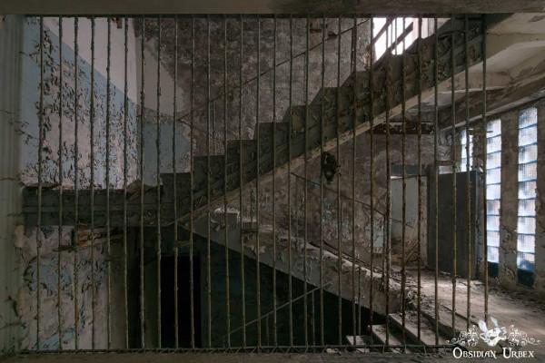 Chernobyl Pripyat Gas Mask School Stairs