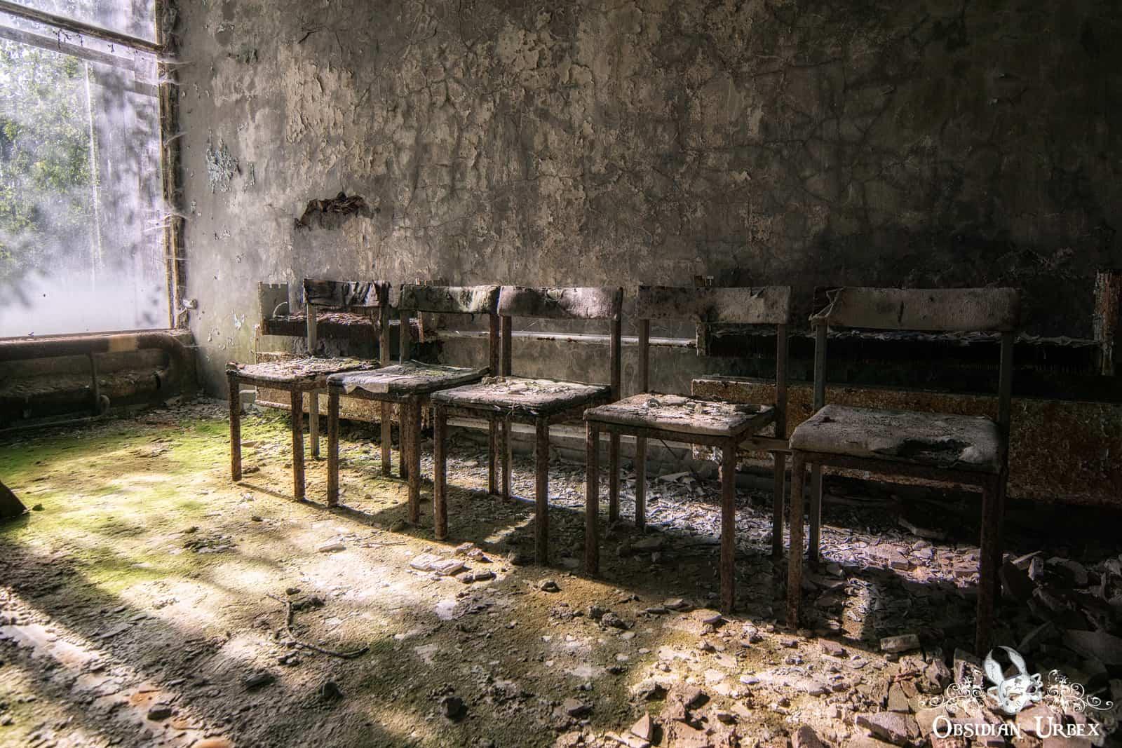 Pripyat Hospital No 126 Chernobyl Obsidian Urbex