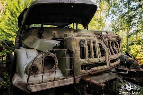Chernobyl Pripyat Military Truck
