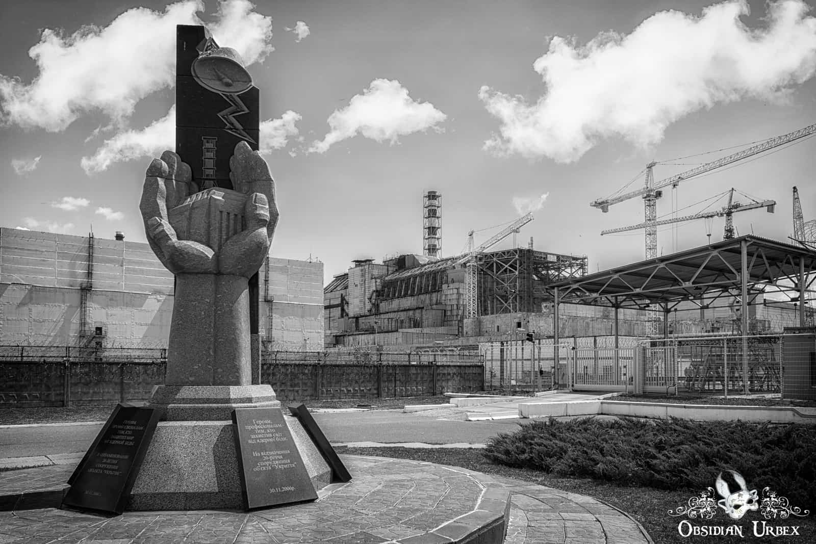 Chernobyl Nuclear Power Plant Obsidian Urbex Photography Urban Exploration Abandoned Places