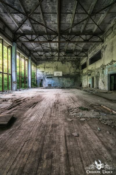Chernobyl Pripyat Sports Hall B