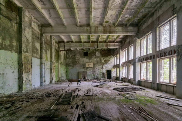 Chernobyl Pripyat Sports Hall and Swimming Pool Featured Image