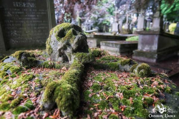 Cemetery of the Skull Belgium Gravestone