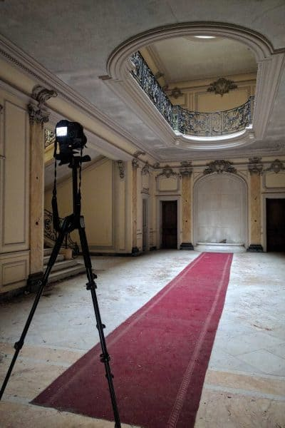 Chateau Lumiere behind the scenes