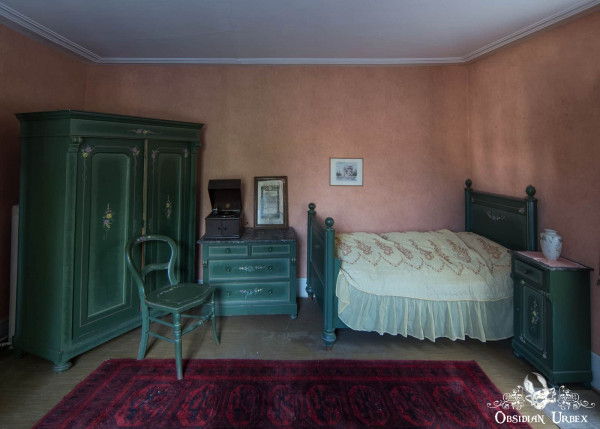 Hunters Hotel Jagerhotel Germany Green Bedroom