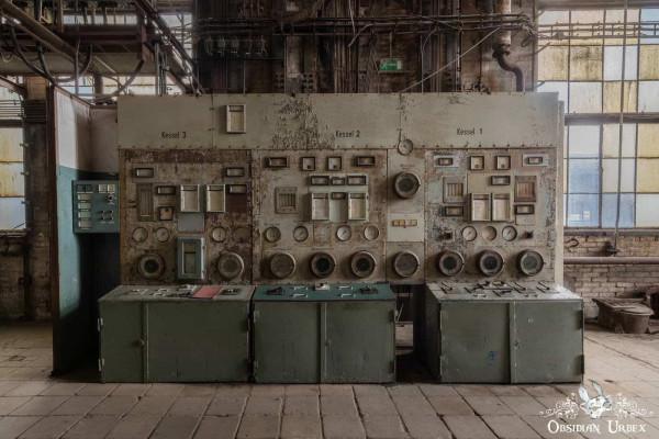Kraftwerk P Germany Control Panel