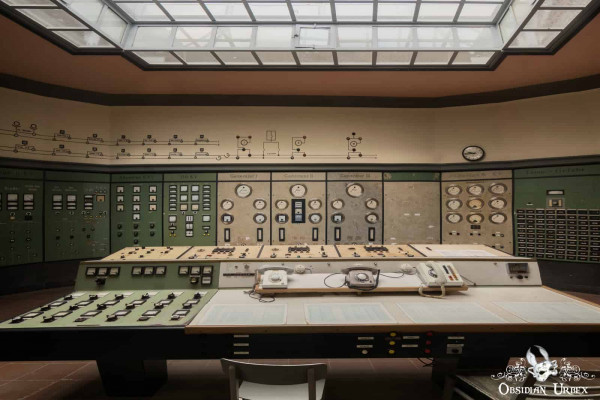 Kraftwerk P Germany Control Room Control Panel