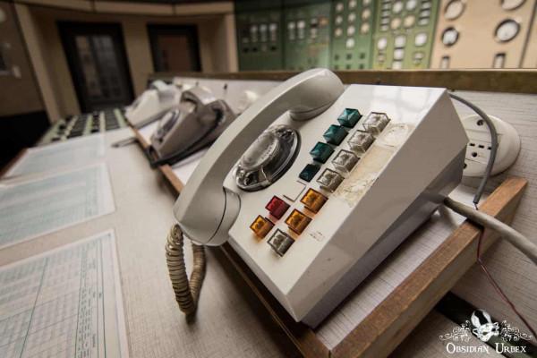Kraftwerk P Germany Telephone in Control Room