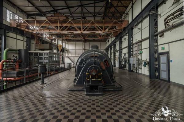 Kraftwerk P Germany Turbine Room