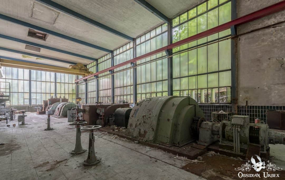 Kraftwerk Cyclonkessel (Papierfabrik), Germany - Obsidian Urbex ...