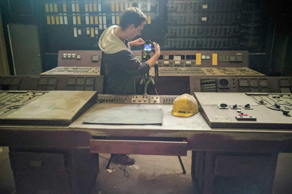 Control Room Y Master of Steel abandoned steel works Belgium Bastian Ahrens
