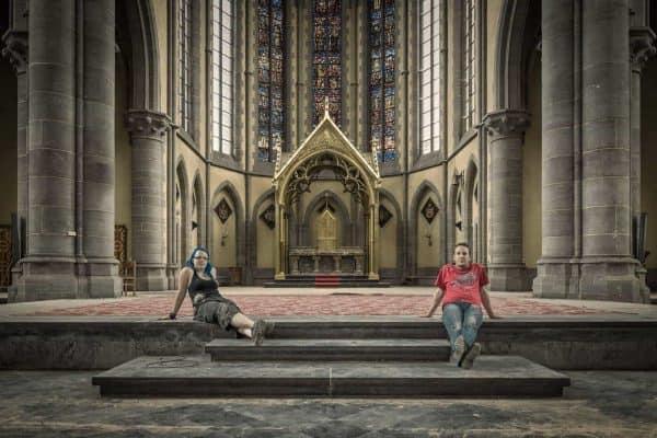 Cliffhanger Church selfie by Bastian Ahrens