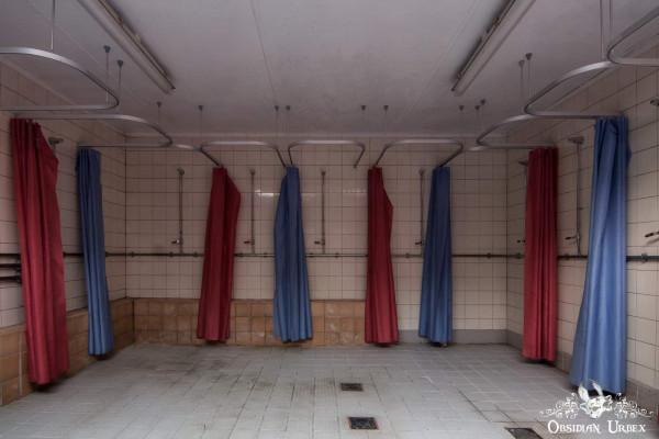 School of Malady England abandoned school communal showers