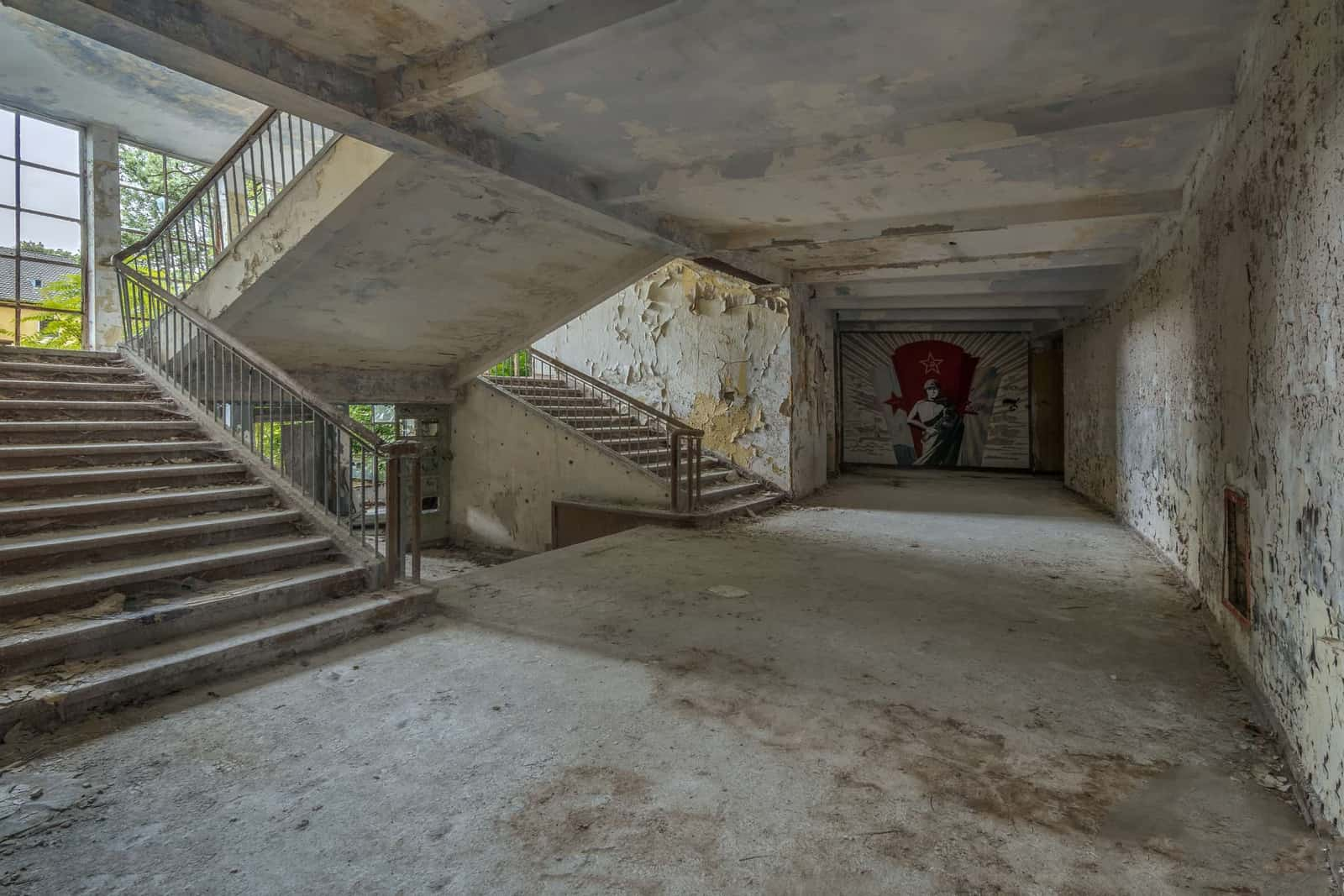 Soviet Nazi Abandoned CCCP Flight School Germany Featured Image