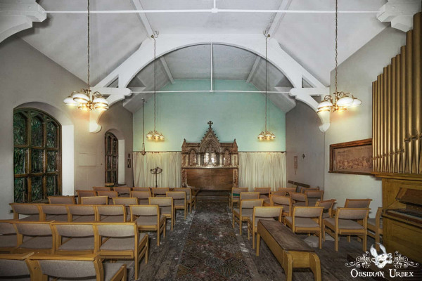Hospital S England abandoned chapel