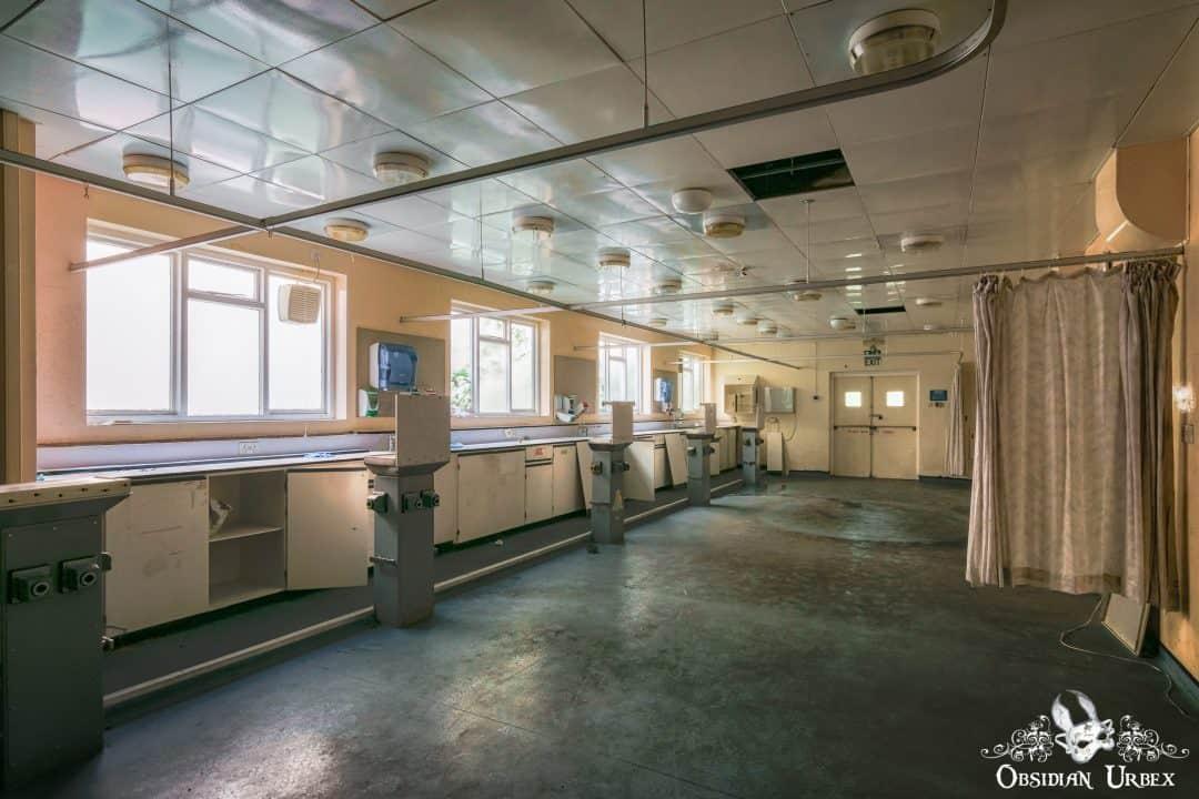 Hospital And Morgue S England Obsidian Urbex