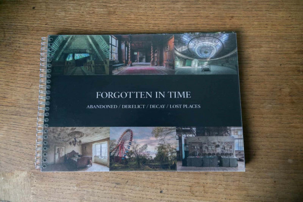Forgotten in Time Saal Digital Photo Booklet Front Cover with Dust Jacket