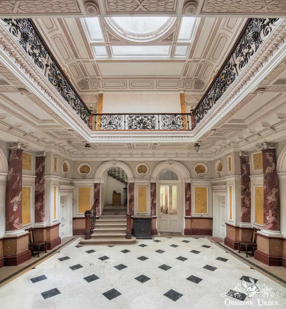 Mansion Of Dramatics England Obsidian Urbex Photography