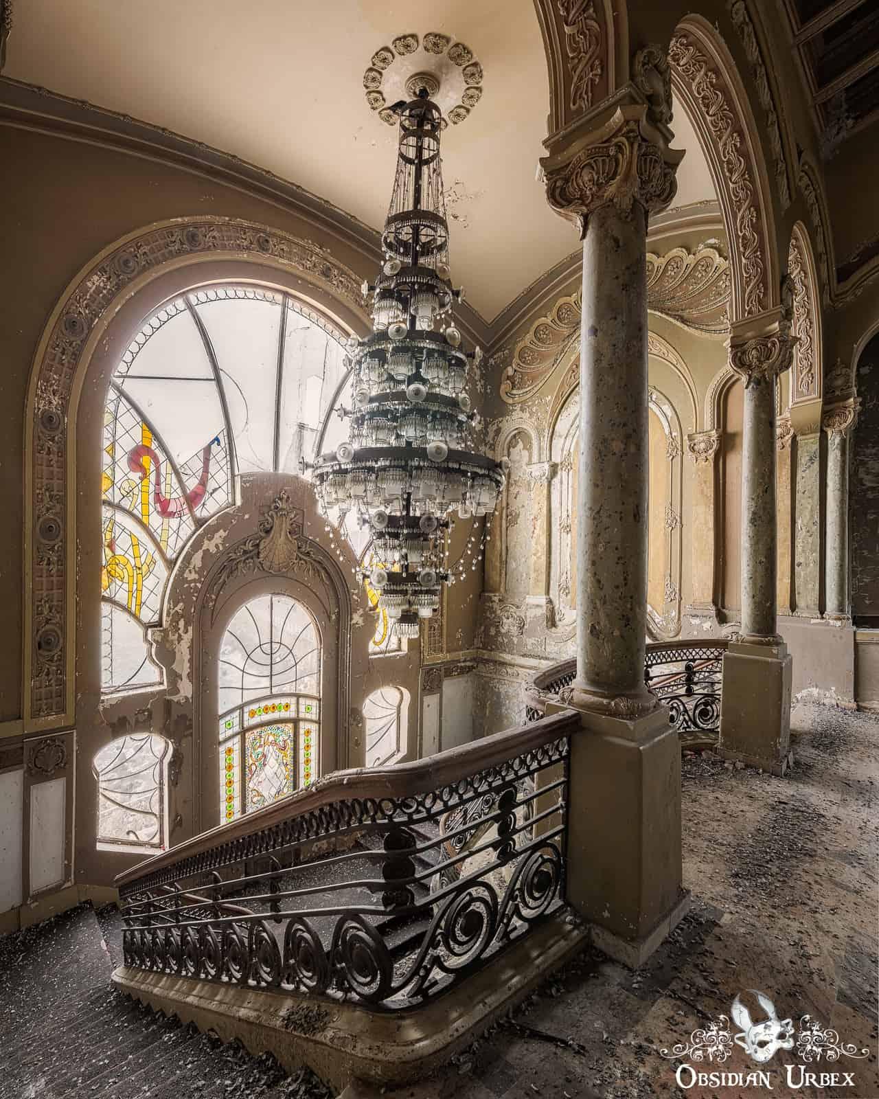 Casino Royale Romania Obsidian Urbex Photography