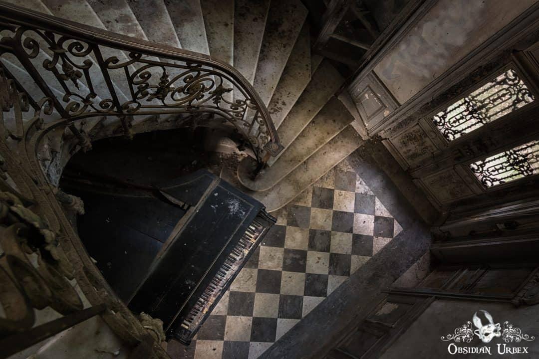 Chateau Verdure France Obsidian Urbex Photography