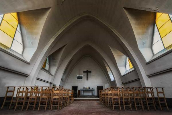 Chapelle Des Mineurs Star Trek Chapel Belgium Featured Image