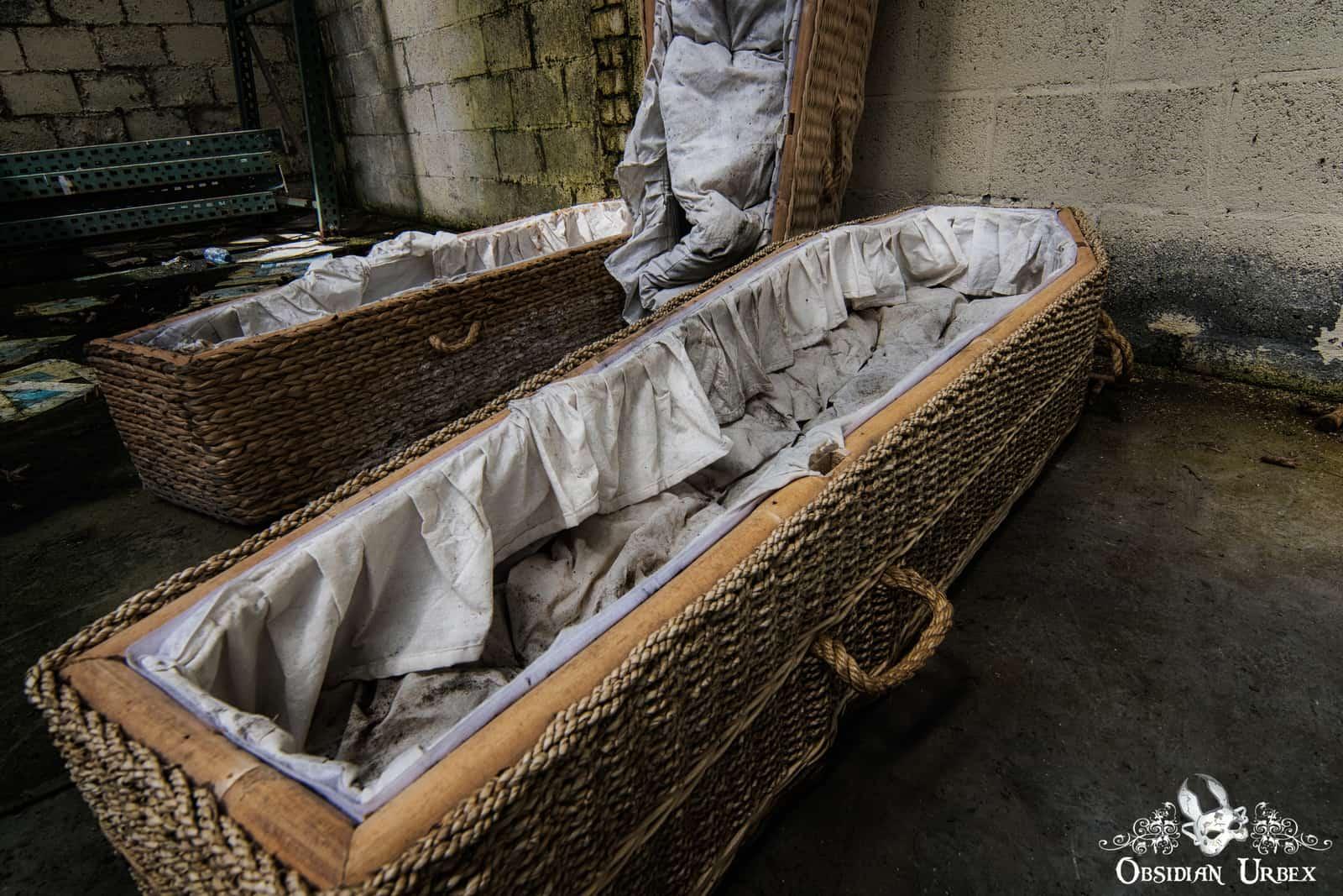 Lost Coffins Coffin Factory Belgium Obsidian Urbex
