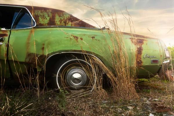 Sunset American Junkyard USA Featured Image