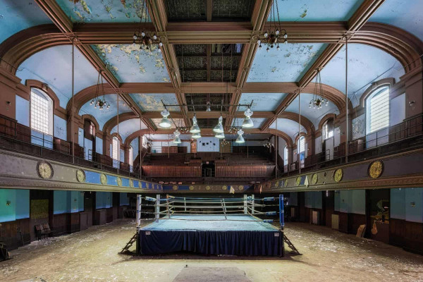 Blue Boxing Ring USA Featured Image