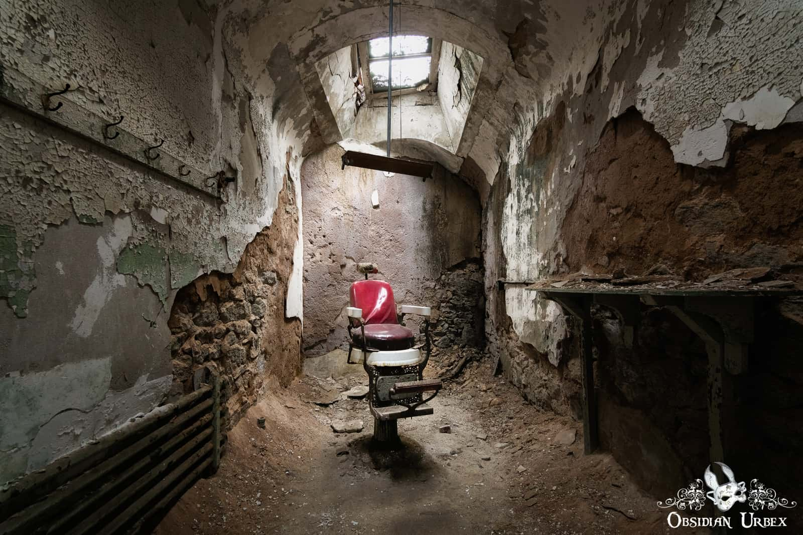 Eastern State Penitentiary Usa Obsidian Urbex