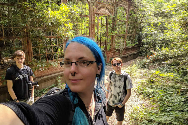 Italy Road Urbex Trip 2018 Steampunk Greenhouse Janine Pendleton Jack Alford Jack Massey