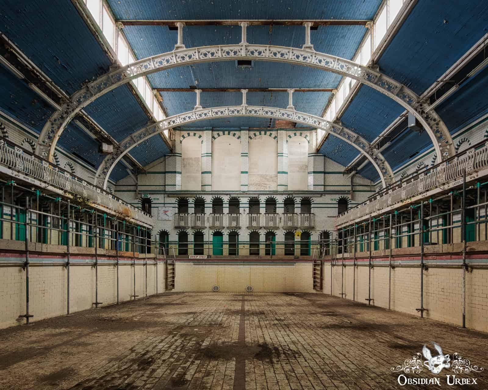 Moseley Road Baths England Obsidian Urbex Photography Urban Exploration Abandoned Places