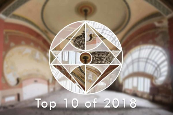 Obsidian Urbex Photography Top 10 Locations of 2018 Featured Image