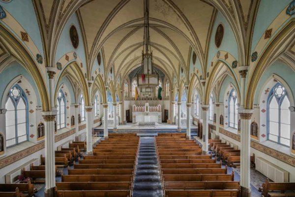 Blue Church and Parish School USA Featured Image