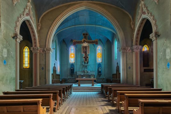 Blue Chapel Italy Featured Image