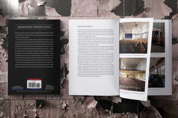 Abandoned Pennsylvania Photography Book by Janine Pendleton Published Collection and History