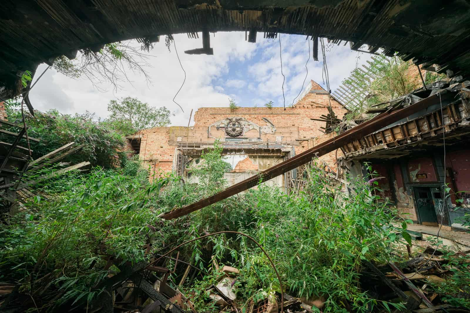Collapsed Hippodrome England Featured Image